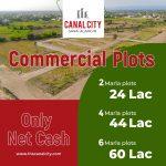 6 Marla Commercial Plot for sale